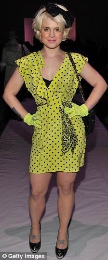 Kelly Osbourne attends the Nanette Lepore Fall 2010