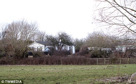 Willows travellers' site, off Sandhurst Lane, Gloucester, where Mr Sims's van is believed to have ended up