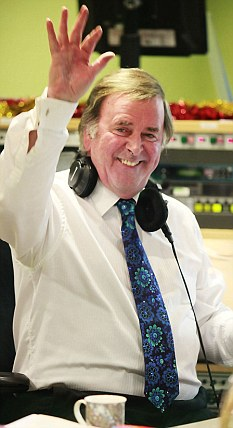 Popular presenter Terry Wogan signed off in December after 27 years hosting his breakfast show