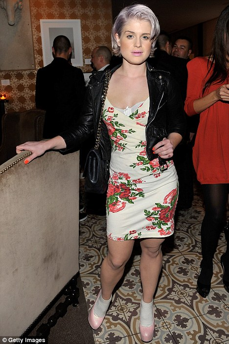 Kelly Osbourne attends DJ Night hosted by Vanity Fair and Hudson Jeans held at Palihouse Holloway