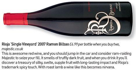 Rioja 'Single Vineyard' 2007 Ramon Bilbao