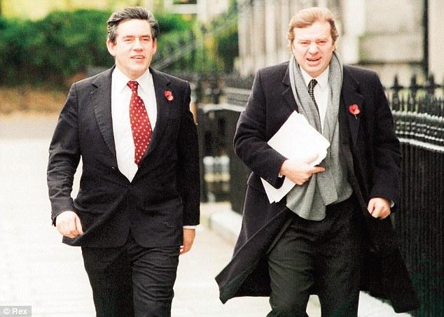 Gordon Brown with Charlie Whelan
