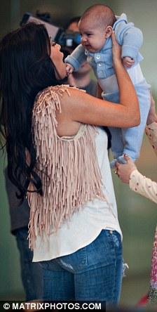 Kim and Kourtney Kardashian baby Mason Miami