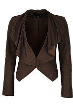 Leather jacket, £150, Next