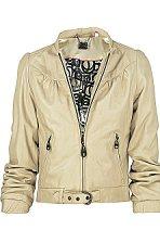 Leather jacket, £435, Doma