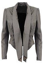 Leather jacket, £149, M&S