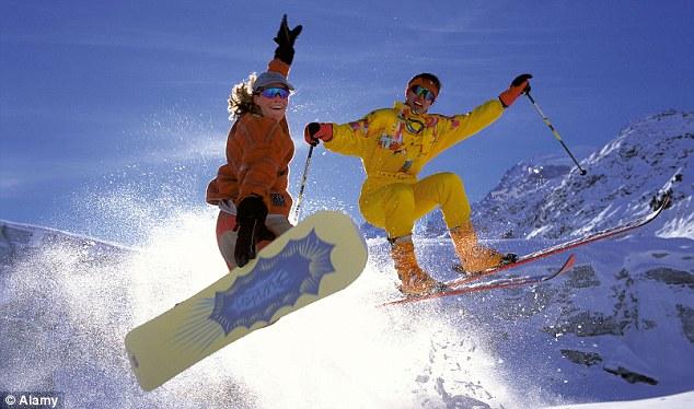 Skiiing image