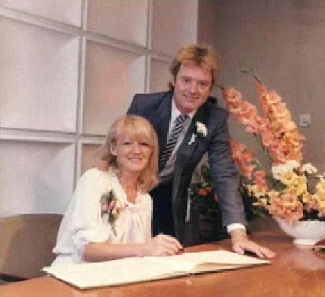 Sandra Jones wife of Coronation Street's Bruce Jones on GMTV.