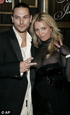 Marriage: Kevin Federline and Britney Spears married in 2004