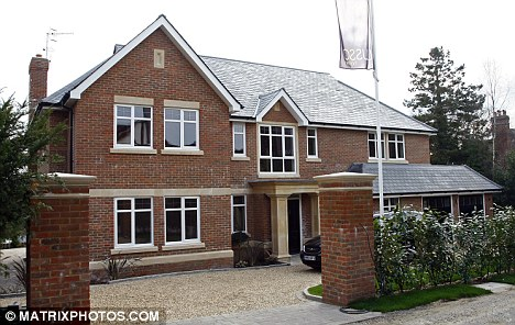 Peter Andre's new home