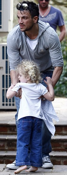 Peter Andre with Princess