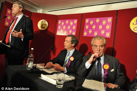 UKIP's campaign launch in London