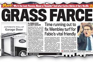 Grass farce
