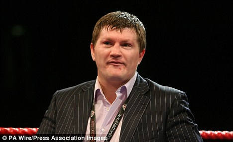 Ricky Hatton has looked after his fighters who have been unable to get home