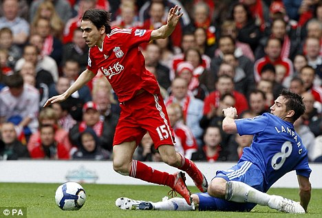 Up in the air: Benayoun cannot say for certain he will be playing for Liverpool next season