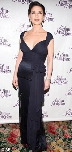 Curvier: Zeta-Jones at the beginning of the Broadway run in December
