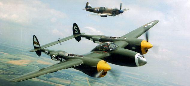 The Lockheed P-38 Lightning