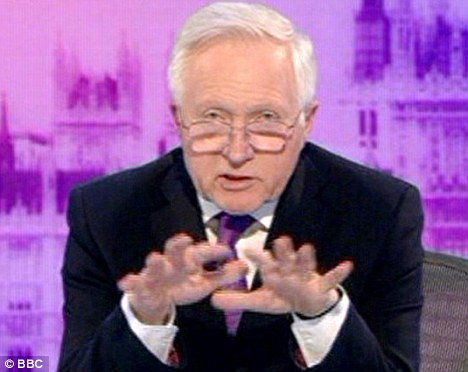 David Dimbleby labelled the election 'mysterious and confusing' as he presented the BBC coverage