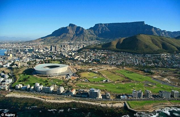 Green Point stadium, Cape Town