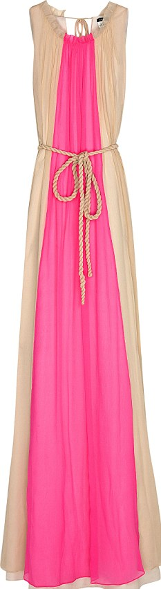 The maxi dress: £230 but looks cheap