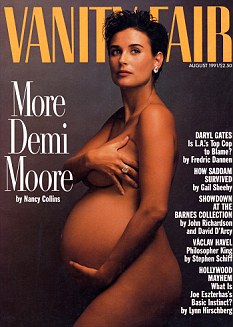 Iconic: Demi Moore's famous 1991 Vanity Fair cover