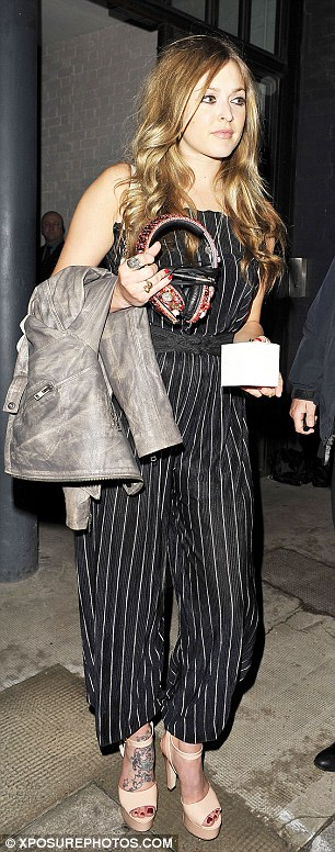 Party girls: Presenter Fearne Cotton and model Lisa Snowdon join in the celebrations
