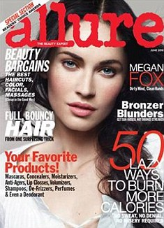 The interview with Megan appears in this month's Allure magazine