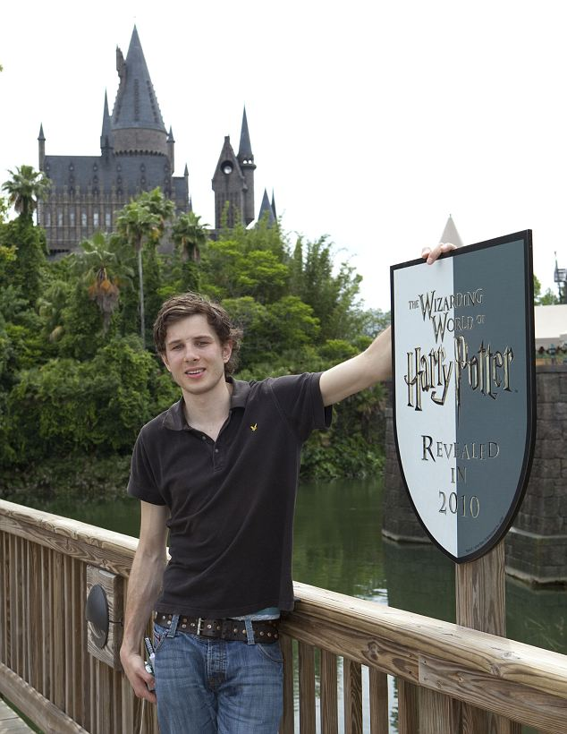 Matt Fortune at The Wizarding World of Harry Potter
