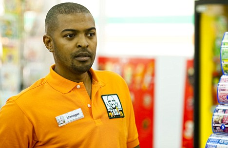Vanity project: Aspiring Writer/director/actor Noel Clarke takes a starring role in his movie  4.3.2.1