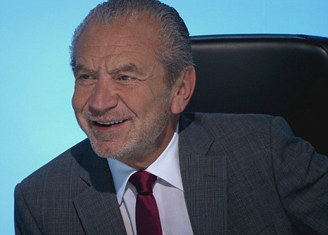 Role model: Rhys said Lord Sugar helped him to overcome his height complex