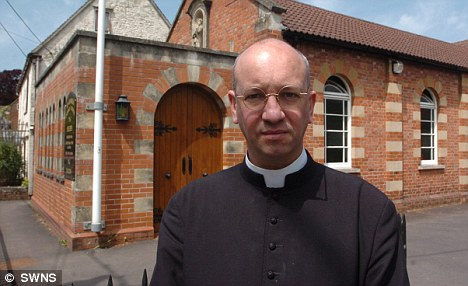 Remorseful: Father Bede Rowe said he hoped people would learn from his actions after he was arrested for drink-driving