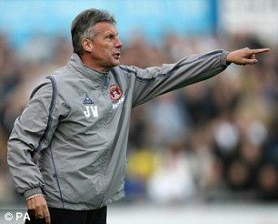 Step up: John Ward had been Aidy Boothroyd's assistant until recently