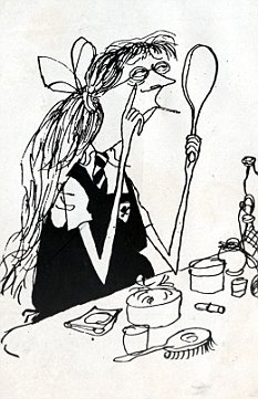 Ronald Searle cartoon