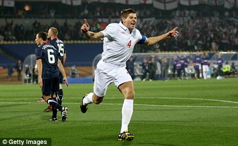 TV nightmare: ITV HD missed Steven Gerrard's opening World Cup England goal