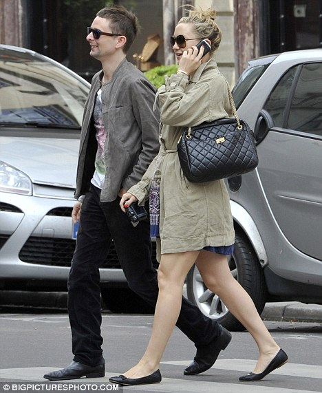 Kate Hudson and Muse singer Matthew Bellam