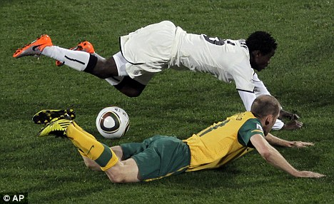 Anthony Annan and Scott Chipperfield
