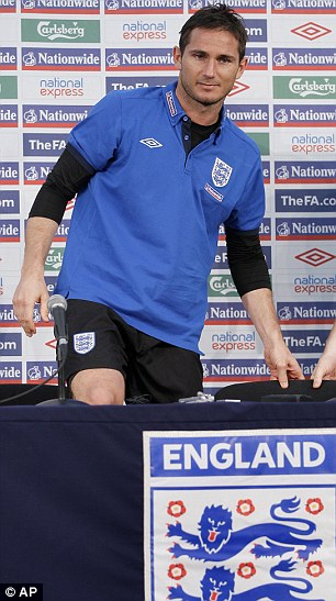 To be Frank: Lampard admits the heat is on England as they head into the match with Slovenia