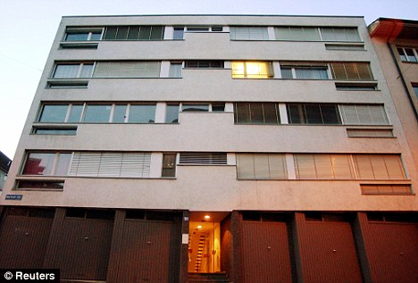 Dying with dignity: The building in Zurich that houses the assisted suicide clinic Dignitas