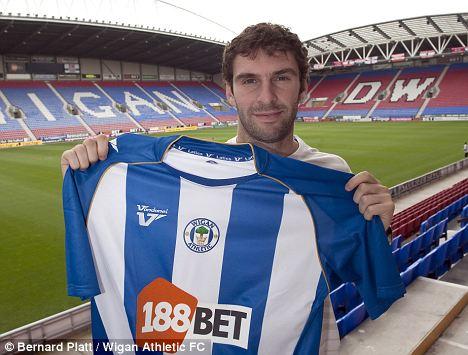 Wigan Athletic striker Mauro Boselli Pic: Bernard Platt/Wigan Athletic FC