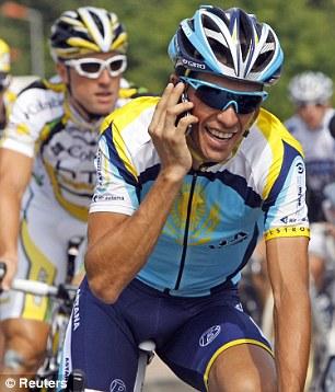 Astana rider Alberto Contador
