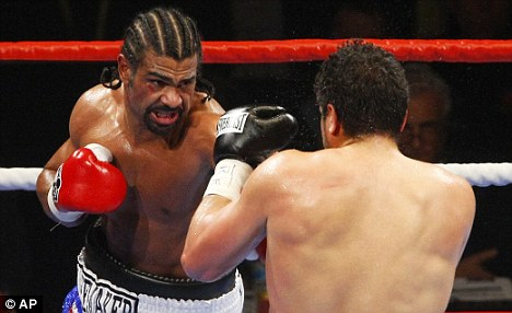 TV turn-off: HBO have decided not to screen any heavyweight clashes, delivery a big money blow to British world champion David Haye