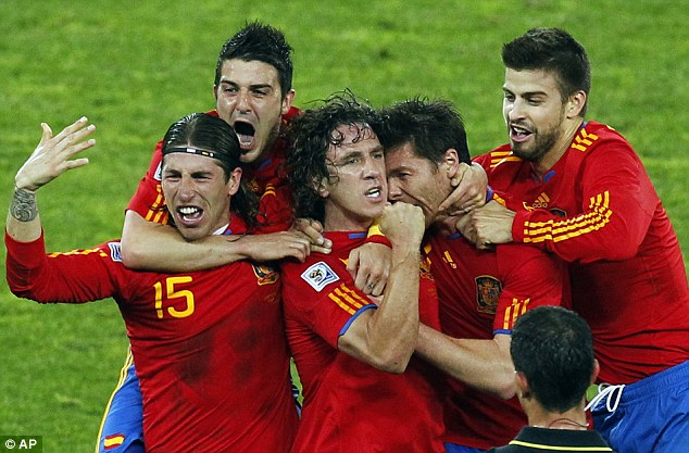 Cup of joy: Spain can become world champions for the first time