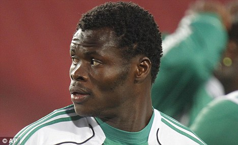 On the lookout: The Nigeria international is also attracting interest from Liverpool and Sunderland