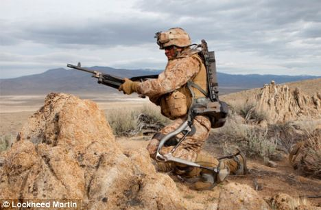 The Hulc robotic exoskeleton can be used for missions up to 72 hours long
