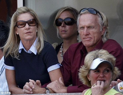 'Controlling': Evert and Norman in 2007. His sister, Janice, has claimed the couple were doomed from the start of their marriage