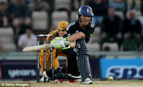 In the runs: Morgan has impressed in England's one-day setup