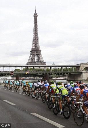 Tour de France in Paris