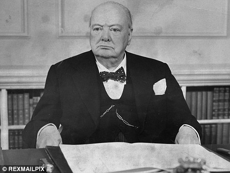 Defiant: Winston Churchill was proud of Britain's history
