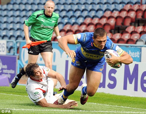 Leeds Rhinos' Ryan Hall