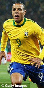 Luis Fabiano - another player not heading to Old Trafford